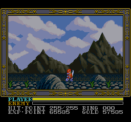 Play Ys III – Wanderers from Ys EasyType (SNES) Online