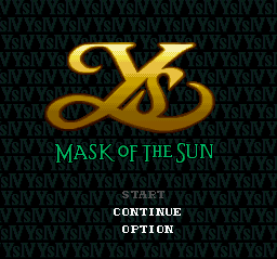 Play Ys IV – Mask of the Sun (SNES) Online